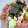 納豆アボカドサラダ