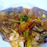 タイの甘辛煮