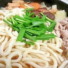 野菜たっぷりうどんすき鍋