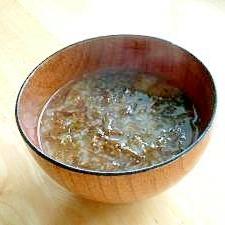お湯をそそぐだけ!簡単お味噌汁☆