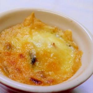 簡単ヘルシー☆茄子とキヌアのチーズ焼き♪
