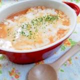 チーズとろける~♬ リゾット風な雑炊