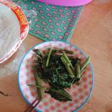 空芯菜のシンプルピリから炒め