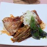 健康法師の 鯛のピリ辛トウバンジャン煮