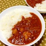 チキンとゴーヤ☆トマトカレー