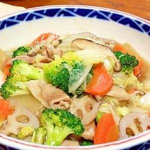 八宝菜みたいな野菜炒め