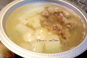スペアリブと豆腐の塩鍋