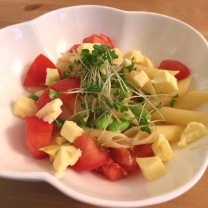 4種の野菜のマカロニサラダ