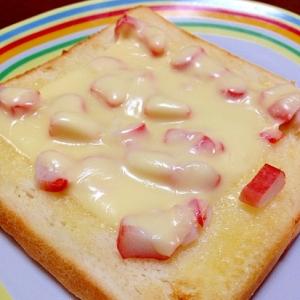 かにかまチーズトースト