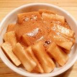 バルサミコのふわふわエスプーマ風長芋の浅漬け