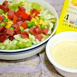 ジンジャーレモンde体ぽかぽか温サラダ
