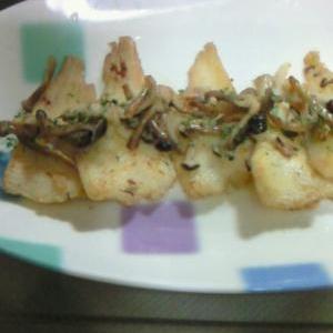 白身魚のムニエル・きのこバターソース