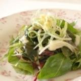 アンチエイジングの海藻サラダ