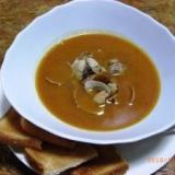 スープ ド ポワソン (魚のアラで作るスープ)