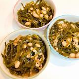 大豆パワーを加えて☆切り昆布と薄揚げの煮物