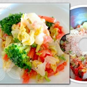 たっぷり食べれる*白菜のサラダ*