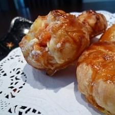 柿とクリームチーズのひと口パイ