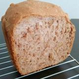 全粒粉100% HBでくるみ入り食パン