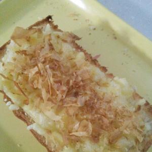 簡単チーズおかかトースト