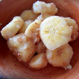 バナナ蜂蜜胡麻ー焼き
