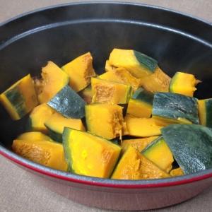 ストウブで☆かぼちゃの煮物