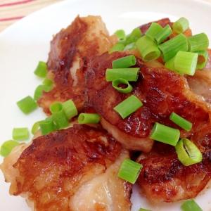 昆布つゆで絶品☆カリッとジューシー鶏のくわ焼き