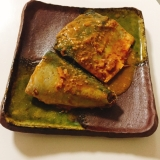 骨ごと食べれる♬ 鯖の味噌煮