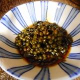 山椒の実の佃煮