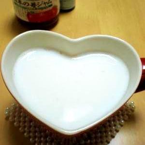 ストロベリーラテ風ホットミルク*いちごみるく*