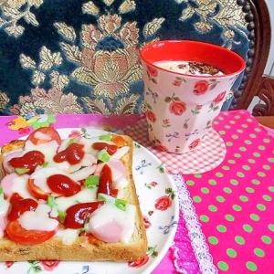 ソーセージのピザトーストその2