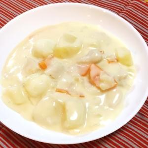 うずらの卵入り シンプルクリームシチュー