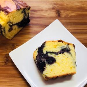 HMで軽く糖質オフのマルベリーパウンドケーキ