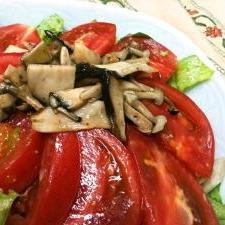 トマトときのこのイタリアンサラダ