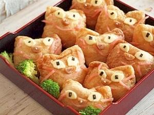 いなりずし☆猫いっぱい~♪