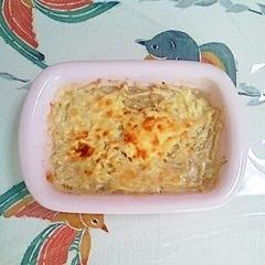 えのきの生姜マヨチーズ焼き