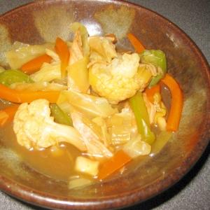 野菜いっぱい ♪ 鶏肉と野菜炒めのレシピ