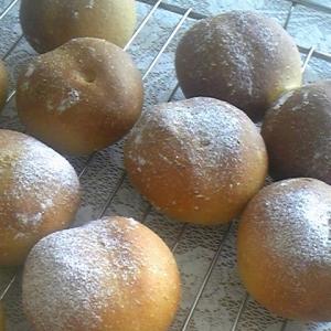 かぼちゃの煮物でかぼちゃパン