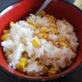 屋台風♪レンジ加熱で簡単茹でトウモロコシ