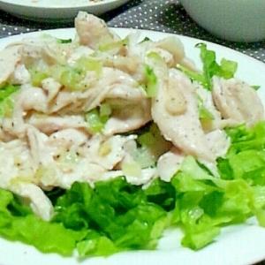 ネギ塩☆塩鶏