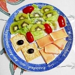 キウイのサラダでダイエット