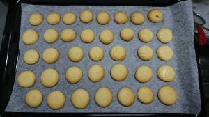誰でも作れるサブレ(バタークッキー)
