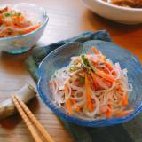 レンジで簡単!副菜に!春雨サラダ