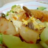 チンゲン菜と薩摩揚げのサッと煮