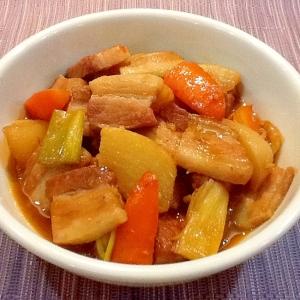 豚バラ肉のピリ辛煮込み*花椒(ホアジャオ)風味