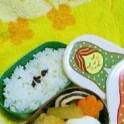 お弁当 椎茸おかかぽん酢