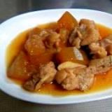 圧力鍋で冬瓜と鶏肉の煮物♪甘辛煮★★普通の鍋でも