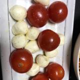 モッツァレラチーズのサラダ