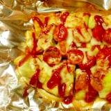 茄子のピザ風チーズ焼き