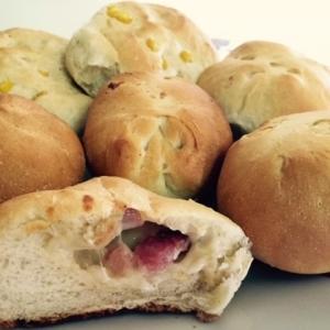 基本のパン生地で☆惣菜パン