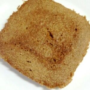 忙しい朝でも簡単☆全粒粉のもちもちパンケーキ